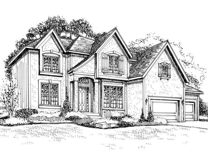 Home Rendering Design Color Renderings B Amp W Renderings Architectural Renderings Floorplans